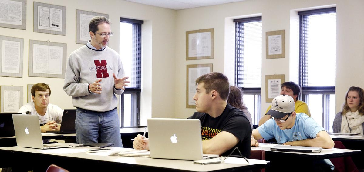 Greg Guelcher Morningside College history class