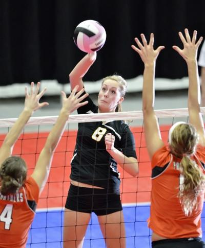 Boyden-Hull vs Tripoli state volleyball semifinals
