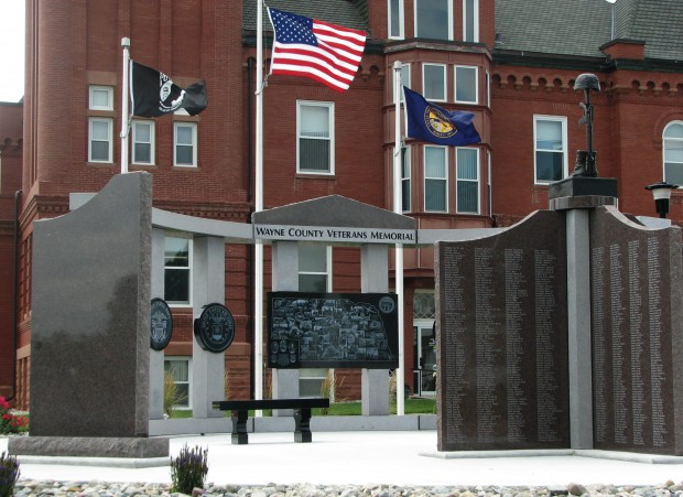 Memorial puts a number on Wayne County's military service | Local