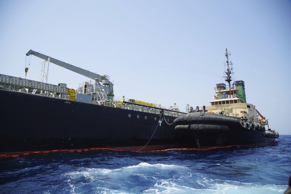Persian Gulf Tensions, oil tanker