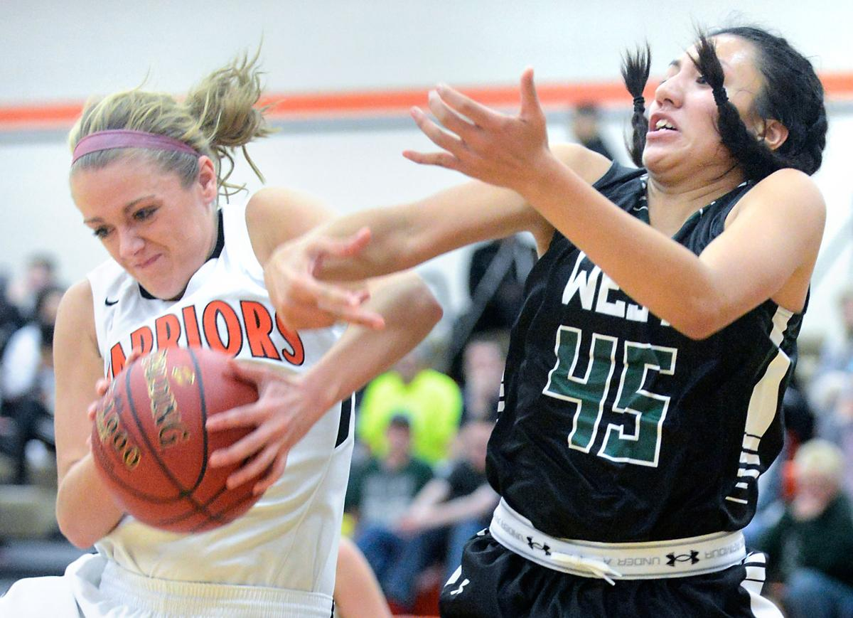 Girl's basketball Sioux City West at Sergeant Bluff-Luton