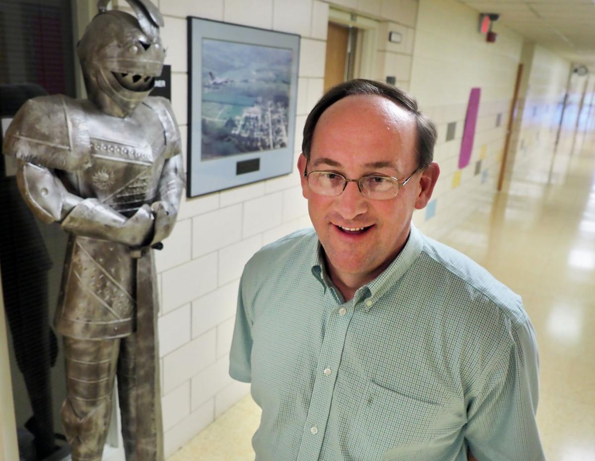 Homer school superintendent Gregg Cruickshank