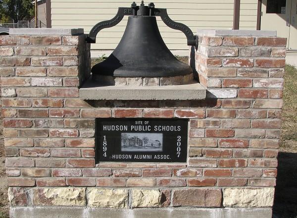 Hudson, S.D., High School bell restoration