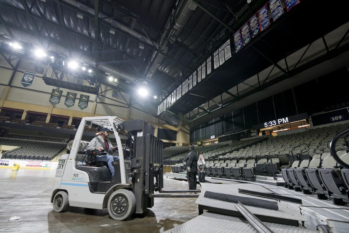 Preparing Tyson Events Center