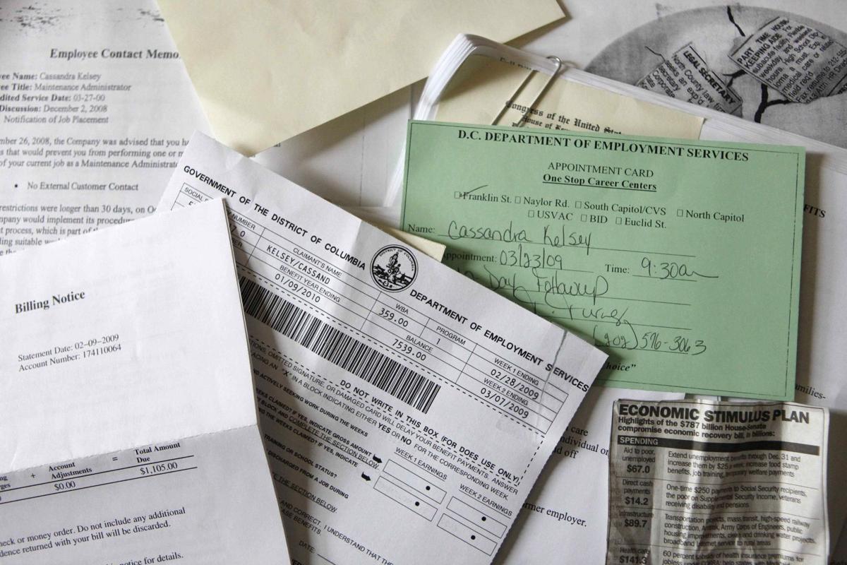 Unemployment paperwork