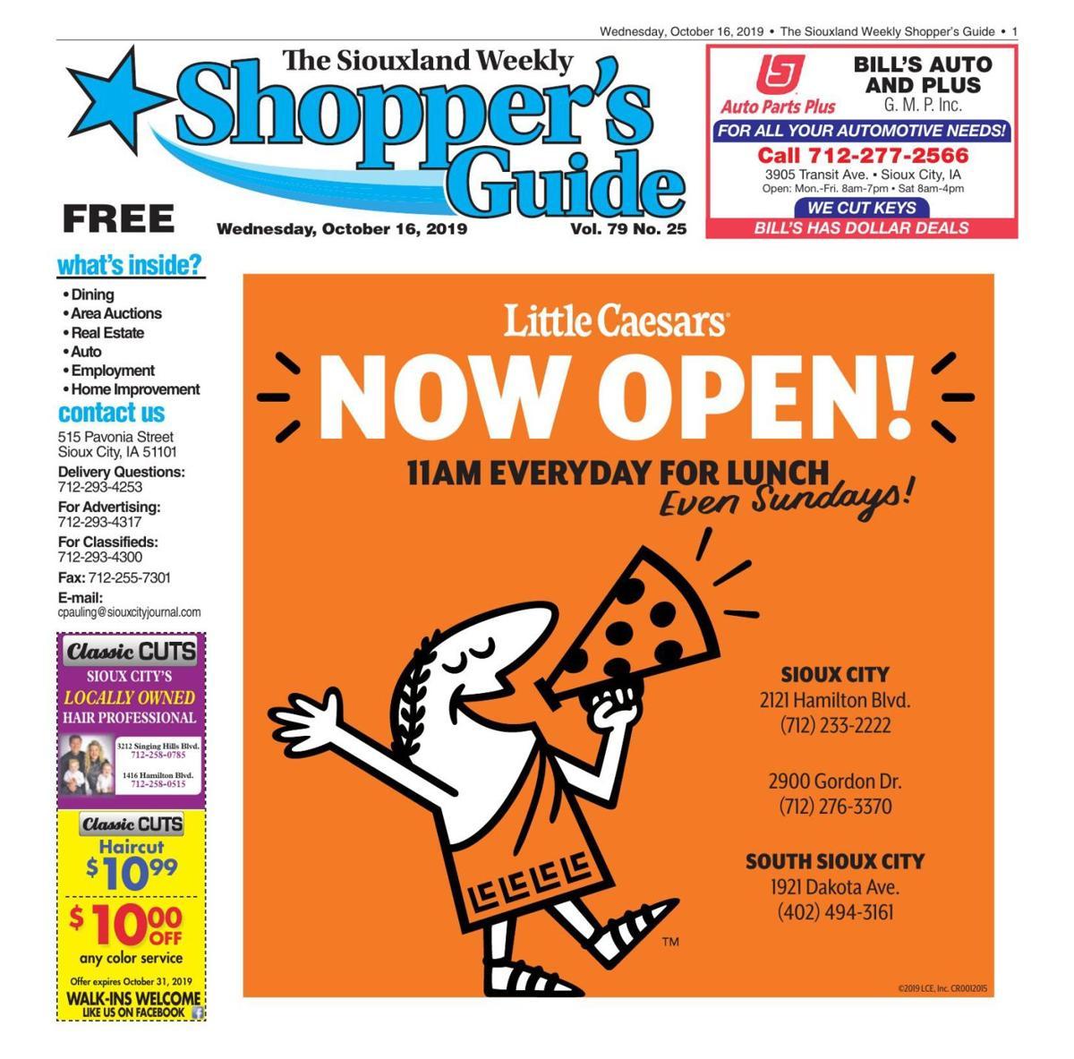 Shopper's Guide - October 16, 2019