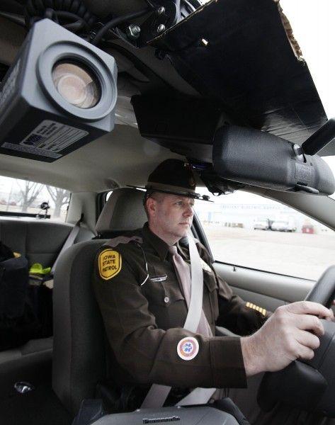 Iowa State Patrol VHS Camera