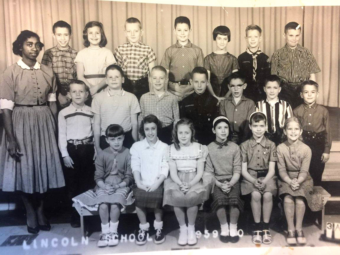 Evelyn Freeman's third grade class