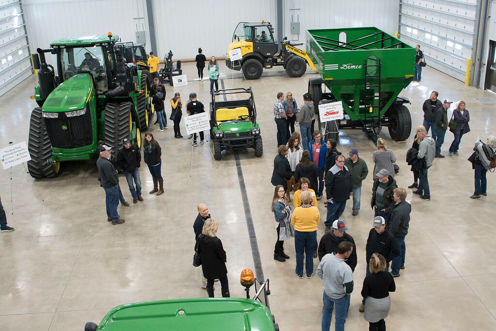 Dordt high bay Agriculture Stewardship Center