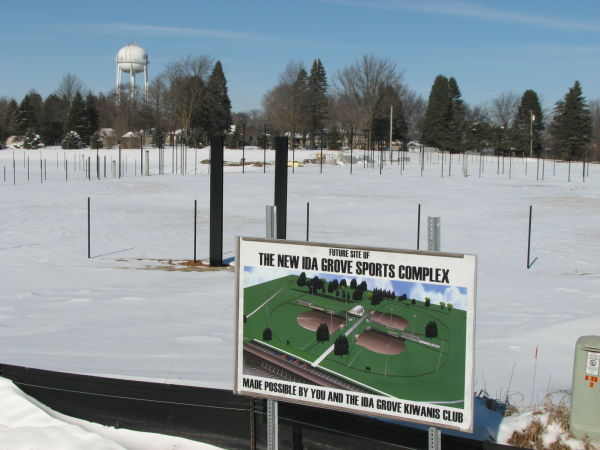 Triple play: Ida Grove set to play ball on 3 new fields this