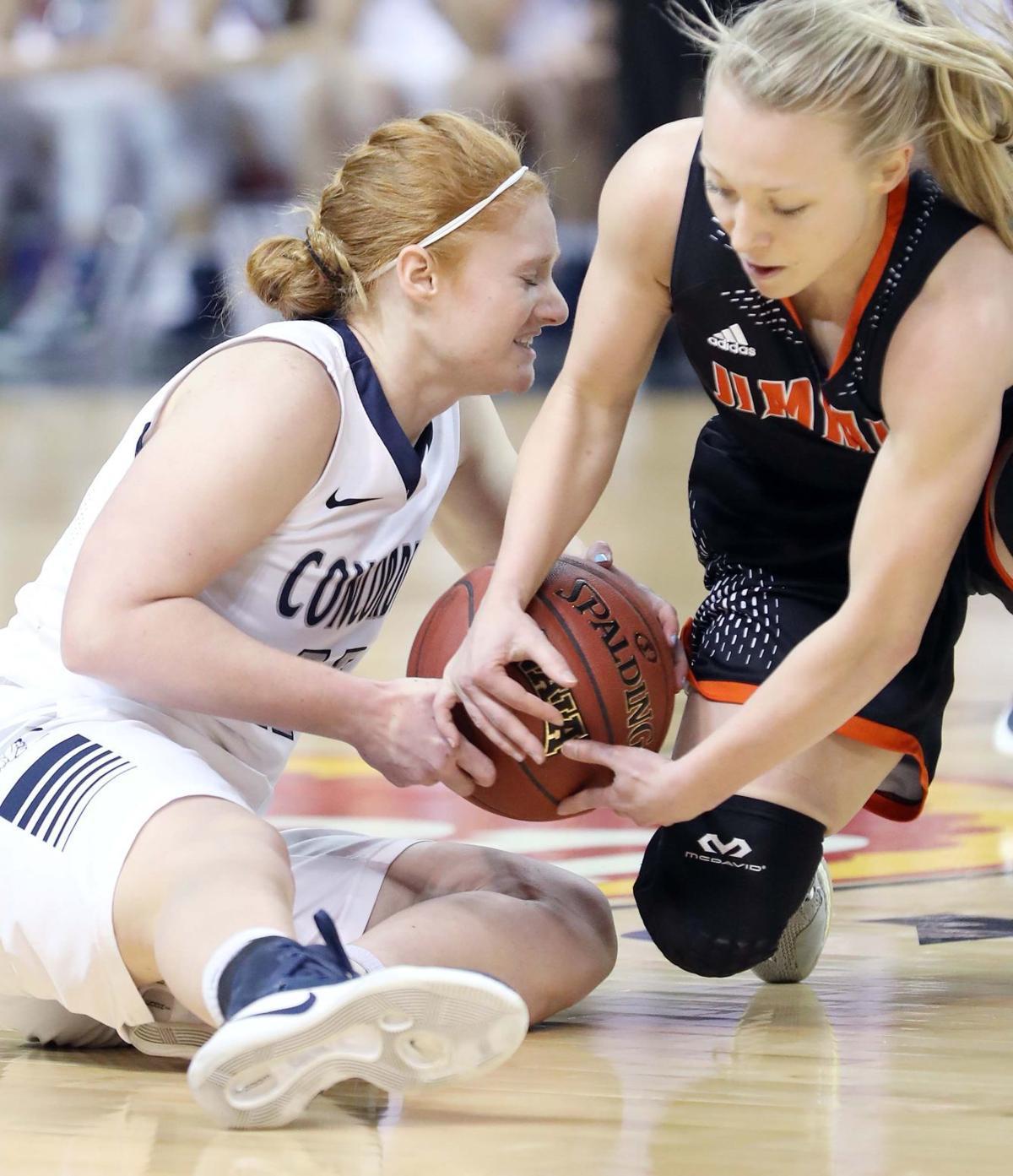 Concordia vs Jamestown NAIA Basketball