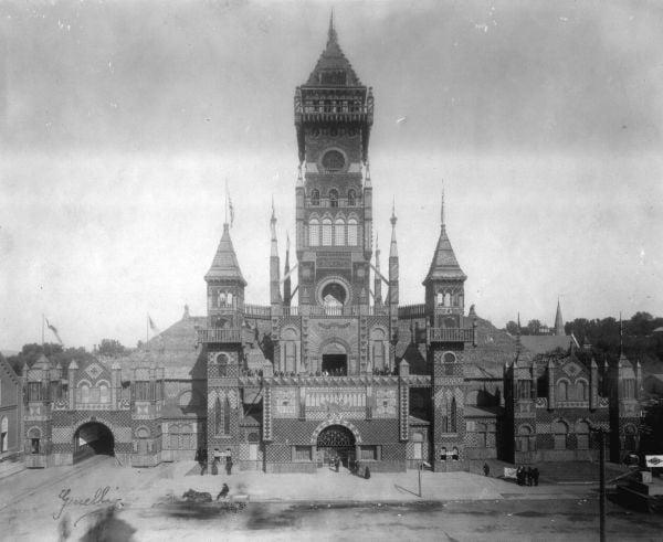 1889 Corn Palace