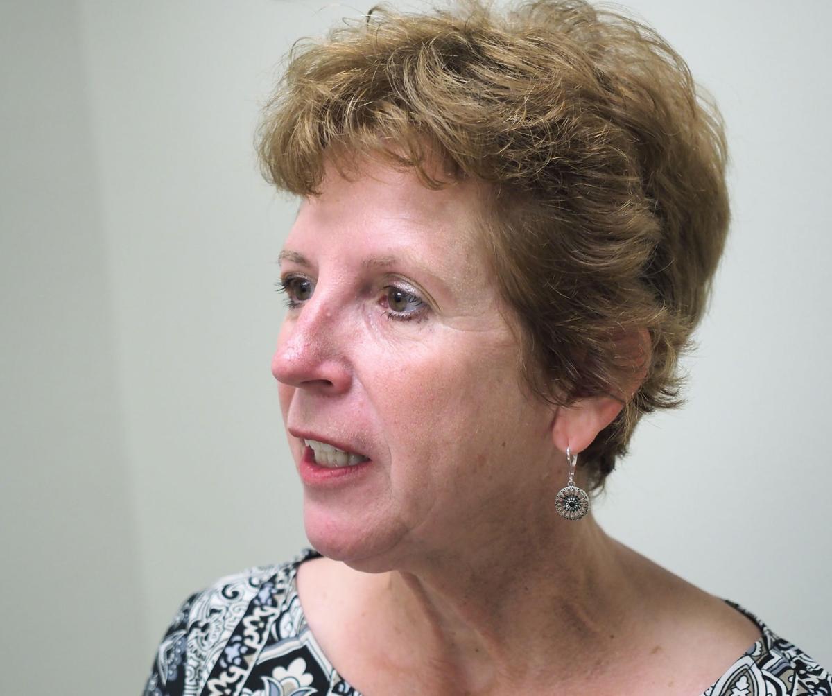 Peggy Smith, executive director of Leadership Siouxland