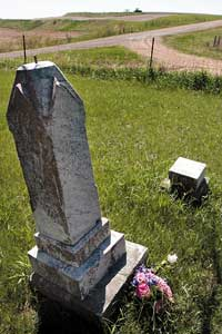 Rural cemetery recalls first black settlers in Monona County