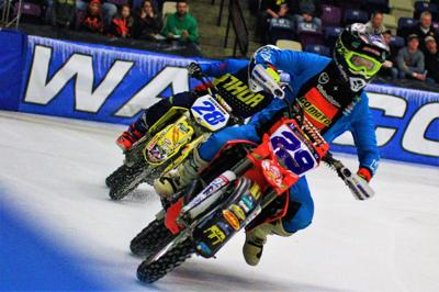 Motorcycles Four Wheelers To Race On Ice At Tyson Events Center