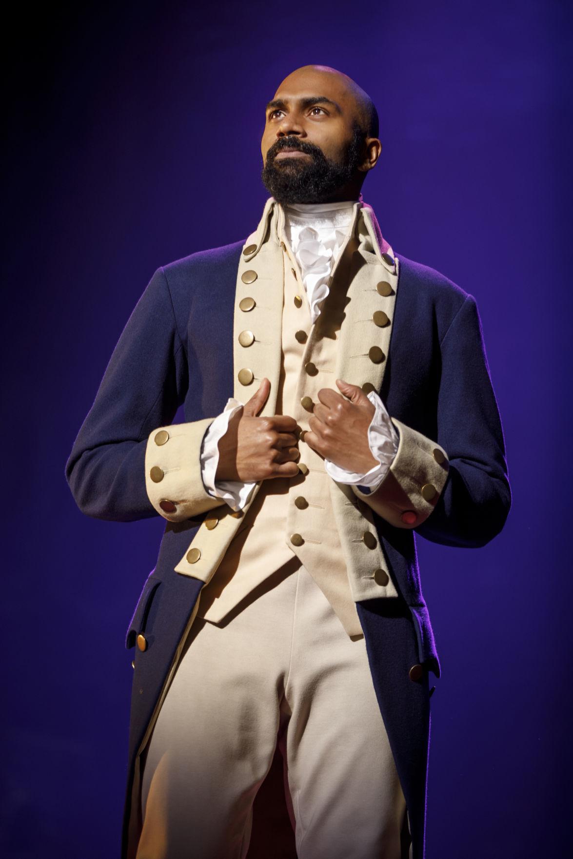 Actor Nik Walker gets his big shot in 'Hamilton,' now coming