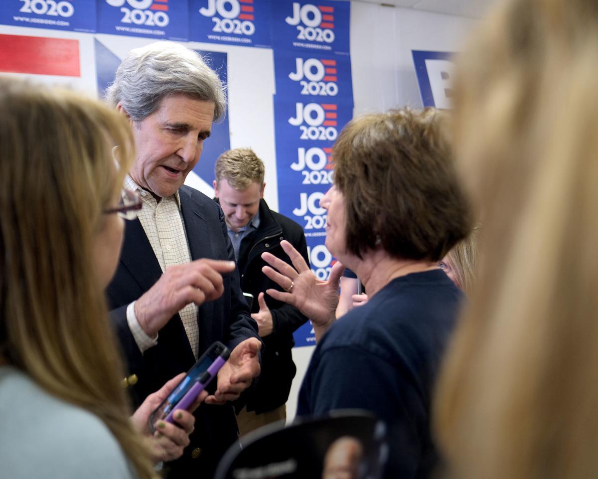 John Kerry campaigns for Joe Biden