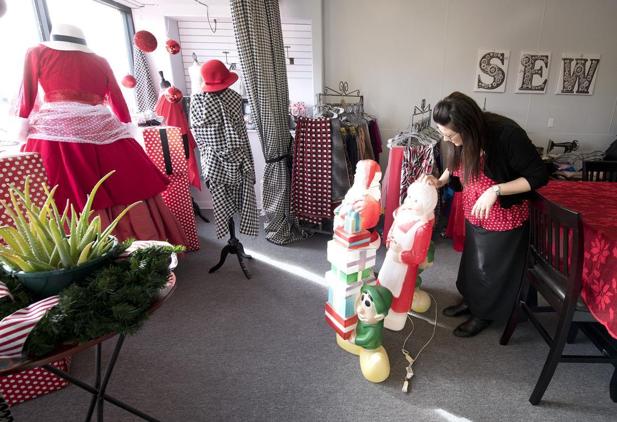 Leeds business Christmas decorations