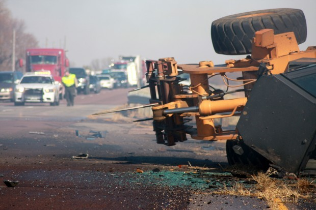 Accident on Highway 75 shuts down traffic | Local news