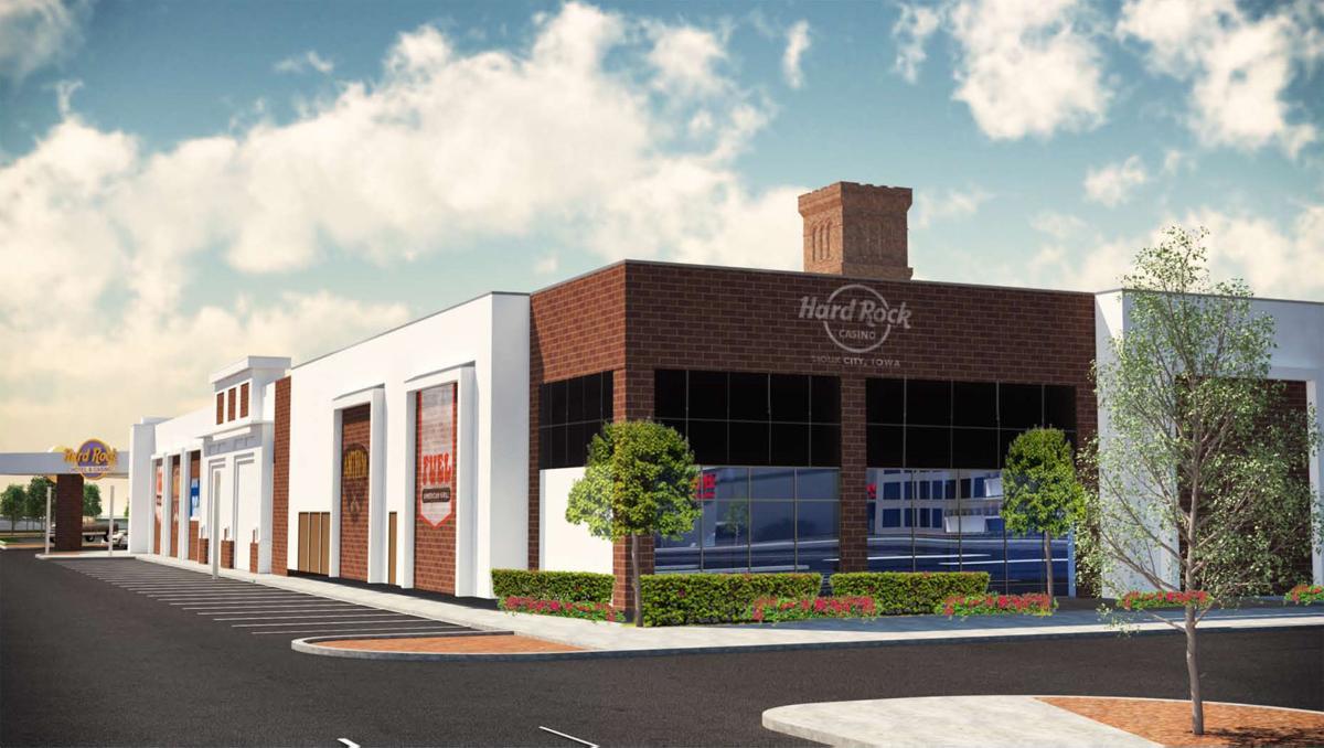 Hard Rock expansion exterior elevation