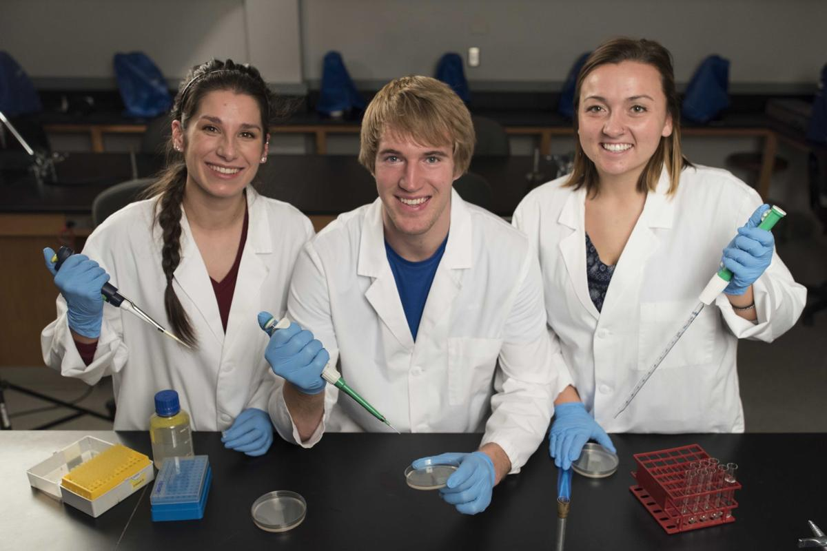 Northwestern College SEA-PHAGES researchers