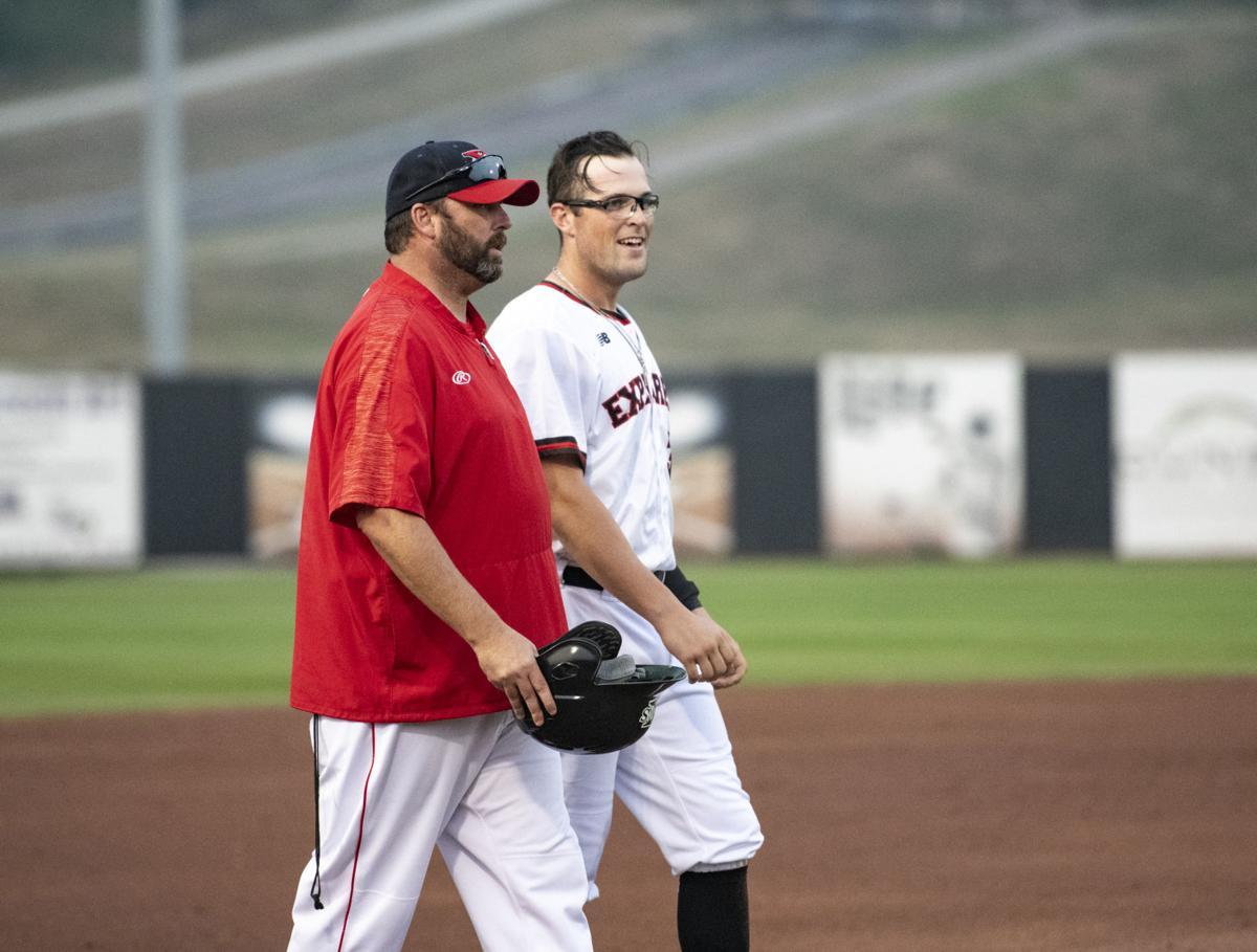 Explorers vs Winnipeg Goldeyes baseball