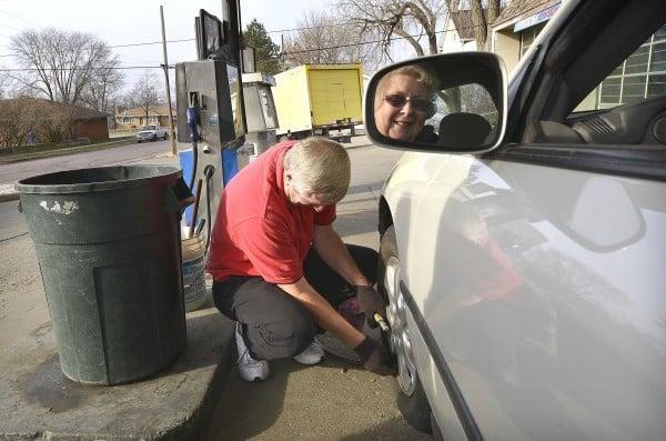 Endangered full service gas station