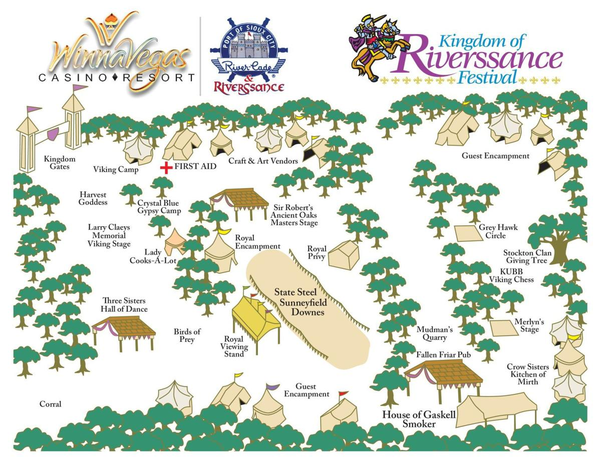 Riverssance 2018 map