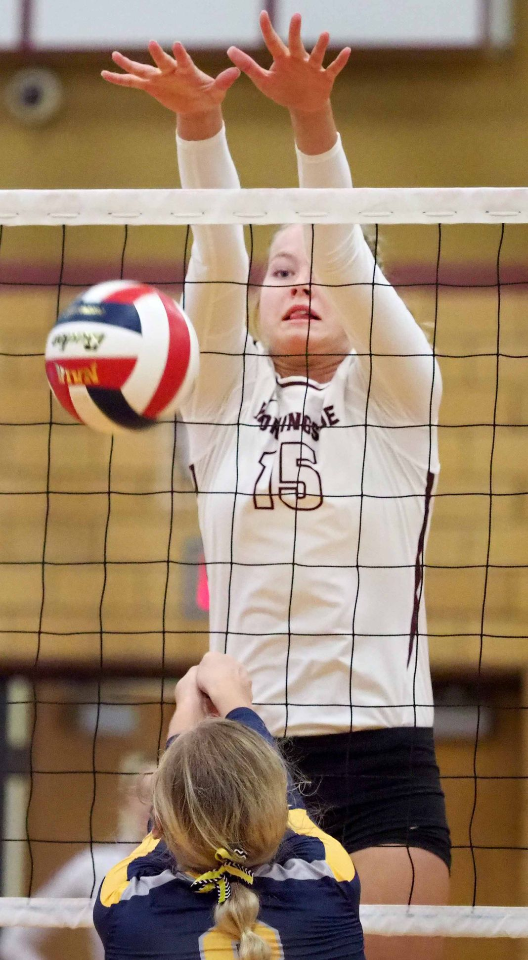 Mount Marty at Morningside volleyball
