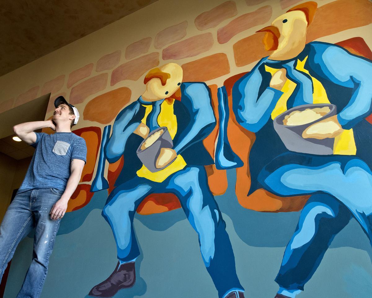 Majestic Theatre mural