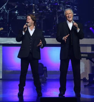 Righteous Brothers on stage
