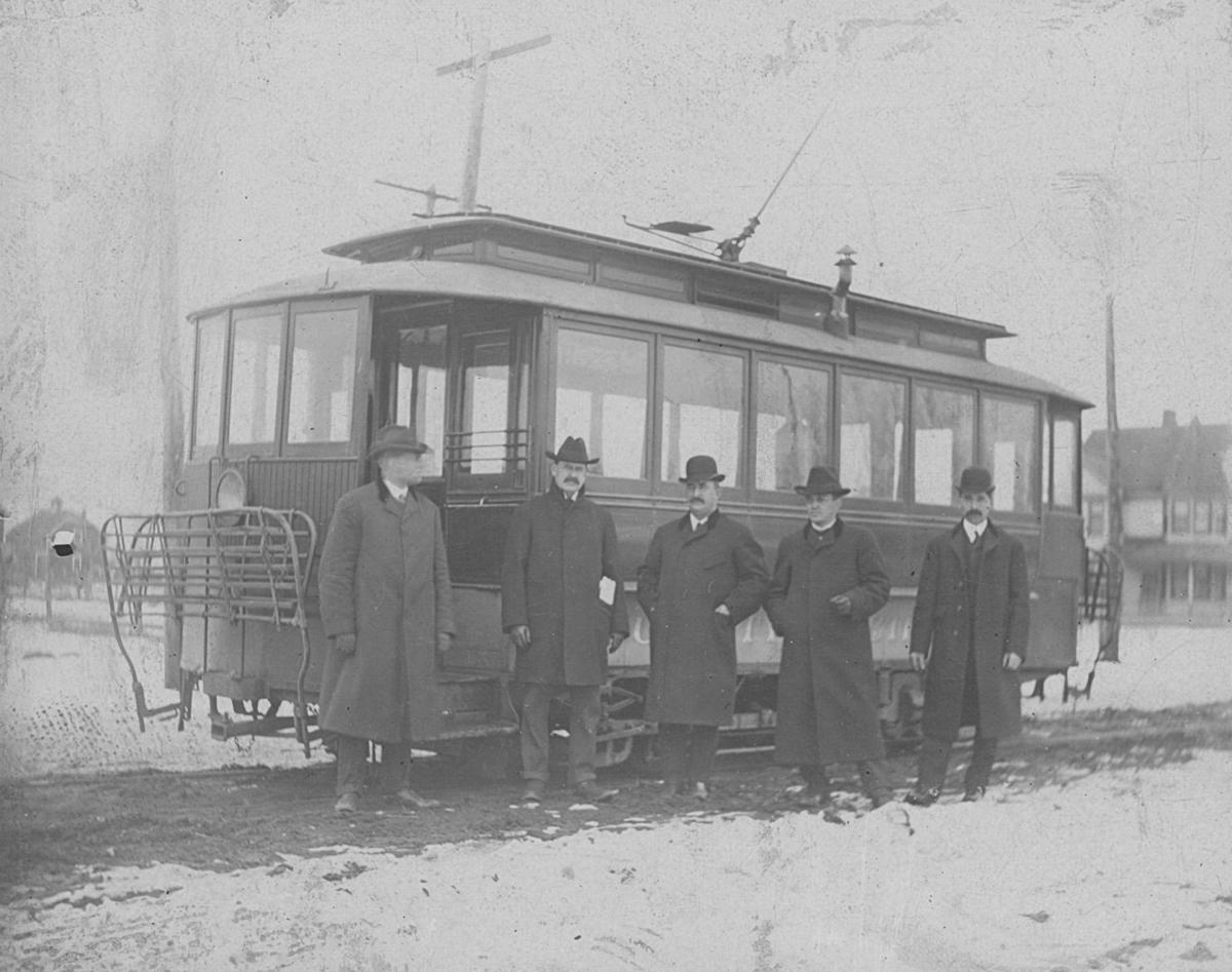 Sioux City street cars, 125 years ago