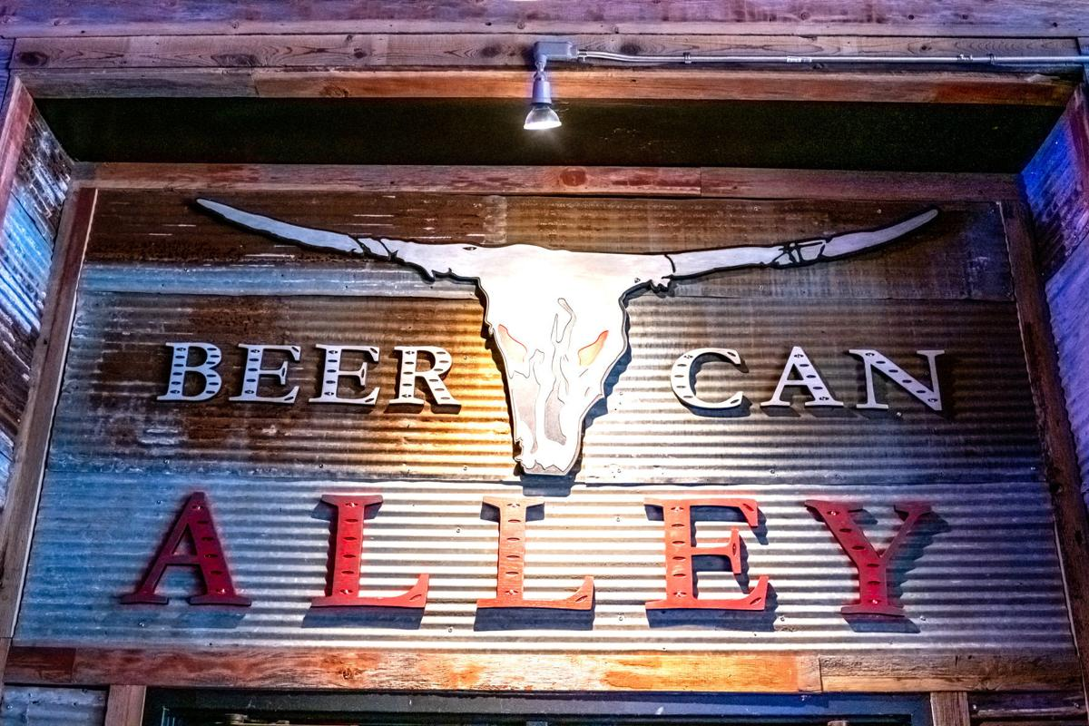 Beer Can Alley opening