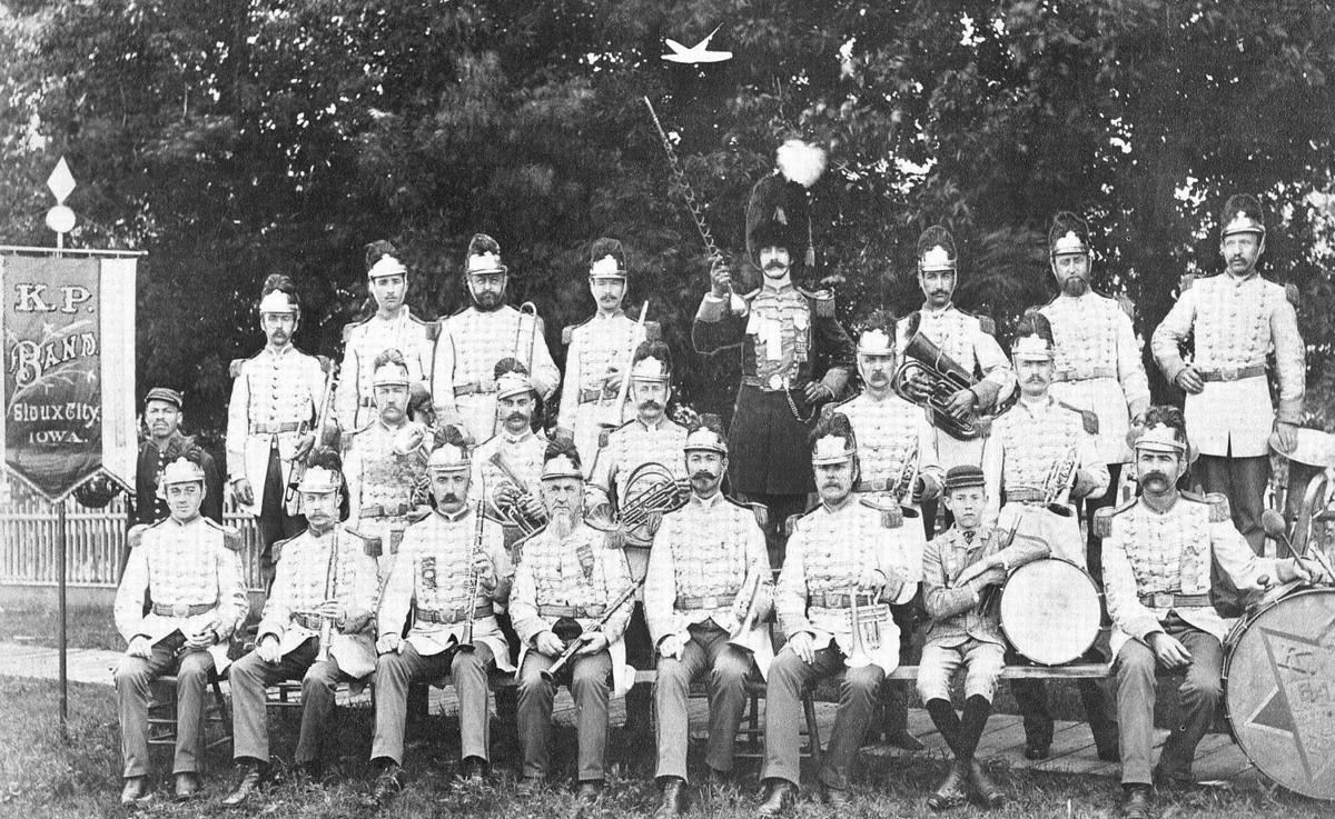 Knights of Pythias Band 1890
