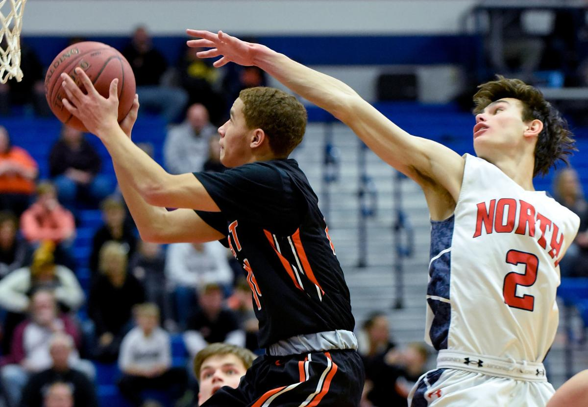 Basketball Sioux City East at Sioux City North