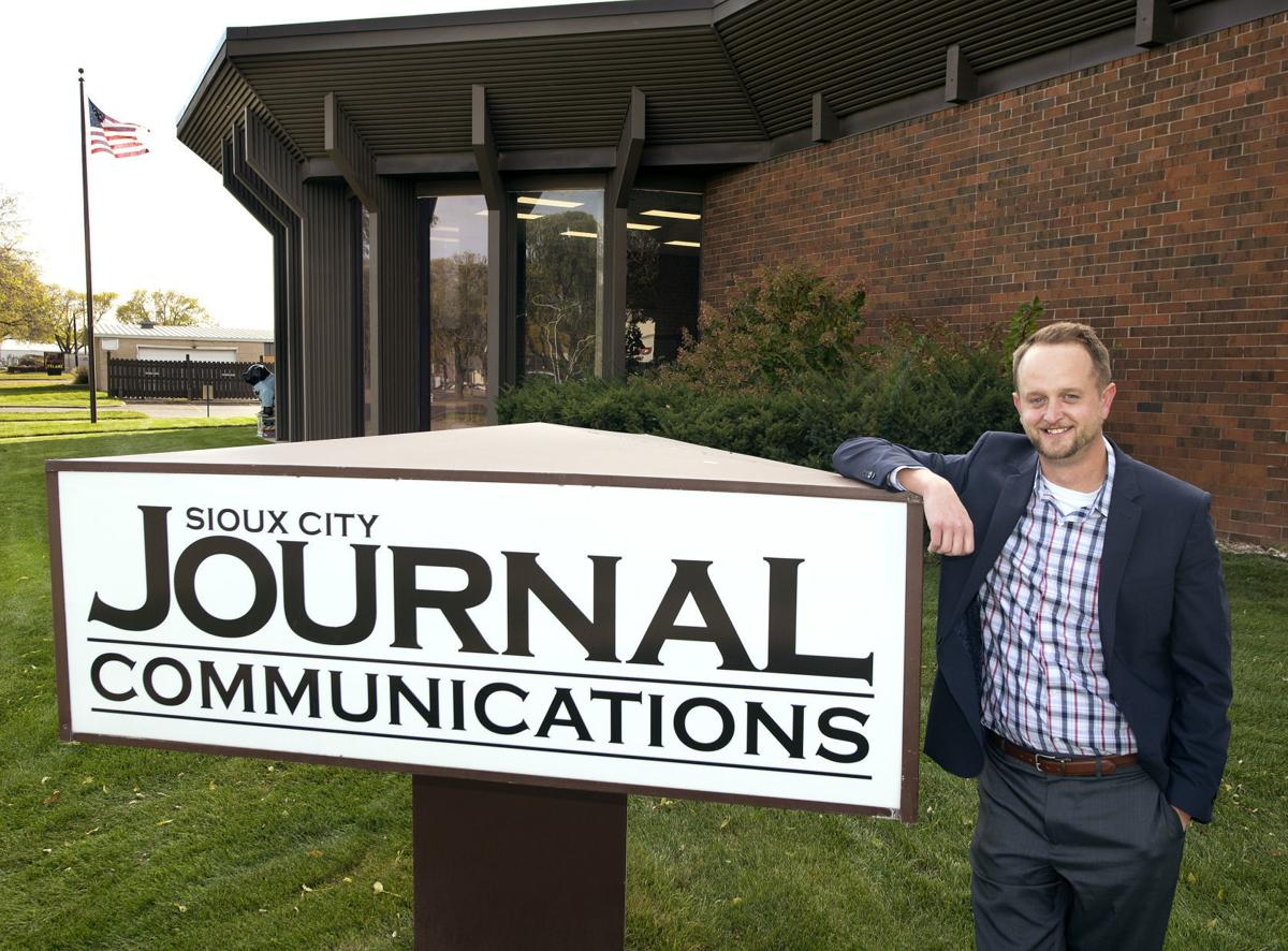 Sioux City Journal publisher Chad Pauling