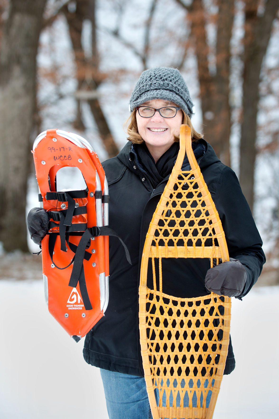 Snowshoeing Demonstration