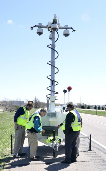 I-29 speed camera demonstration