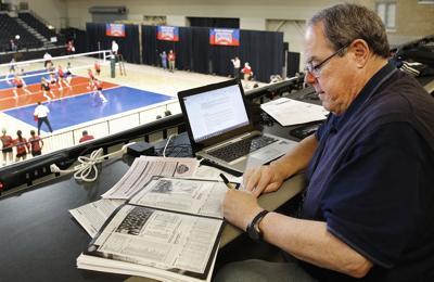 Terry Hersom 2015 NAIA volleyball