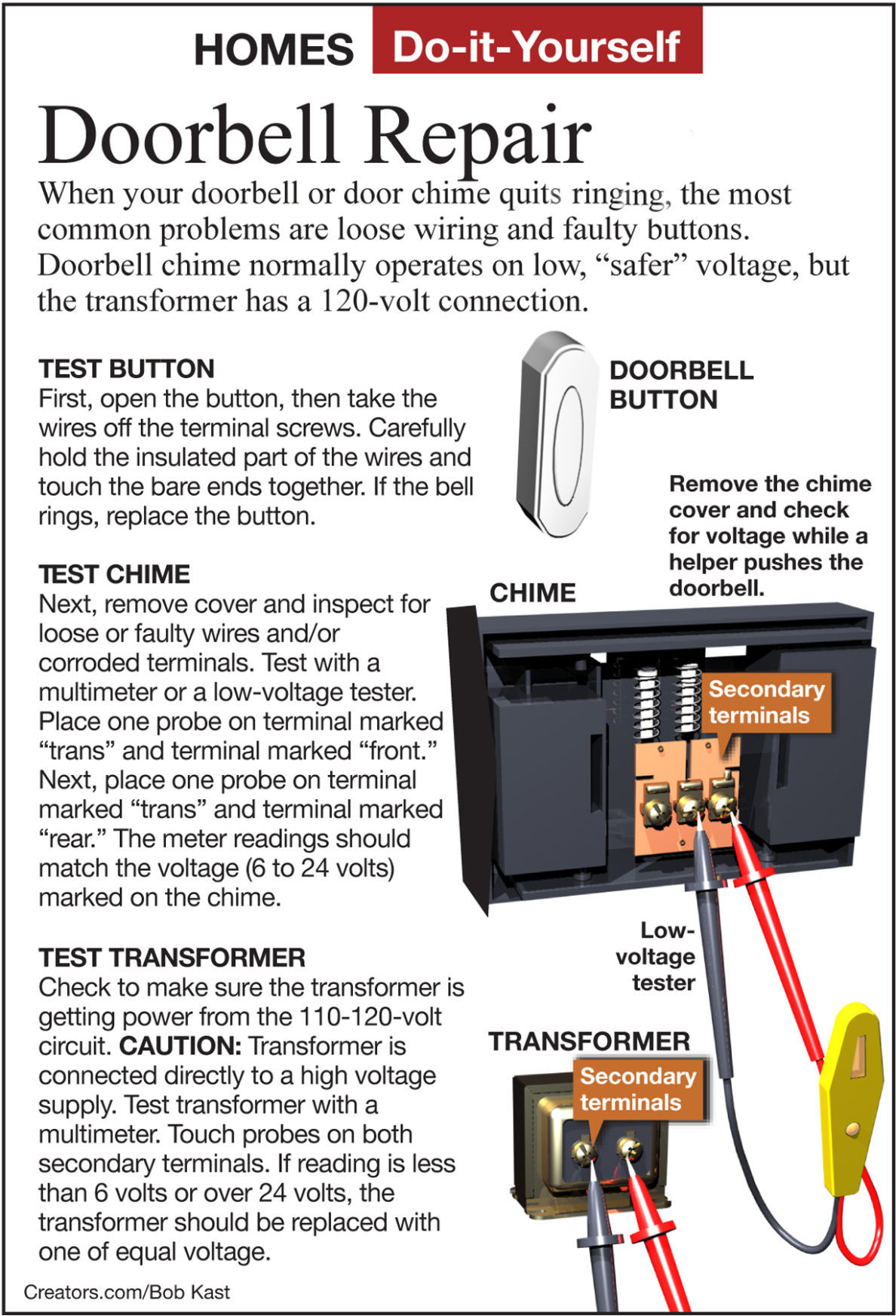 Doorbell Wiring Testing Trusted Diagram Doorbells In Parallel Diagrams James Dulley Install A Louder Chime Siouxland Homes