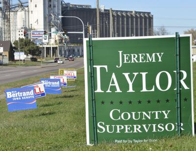 Campaign election signs 2014