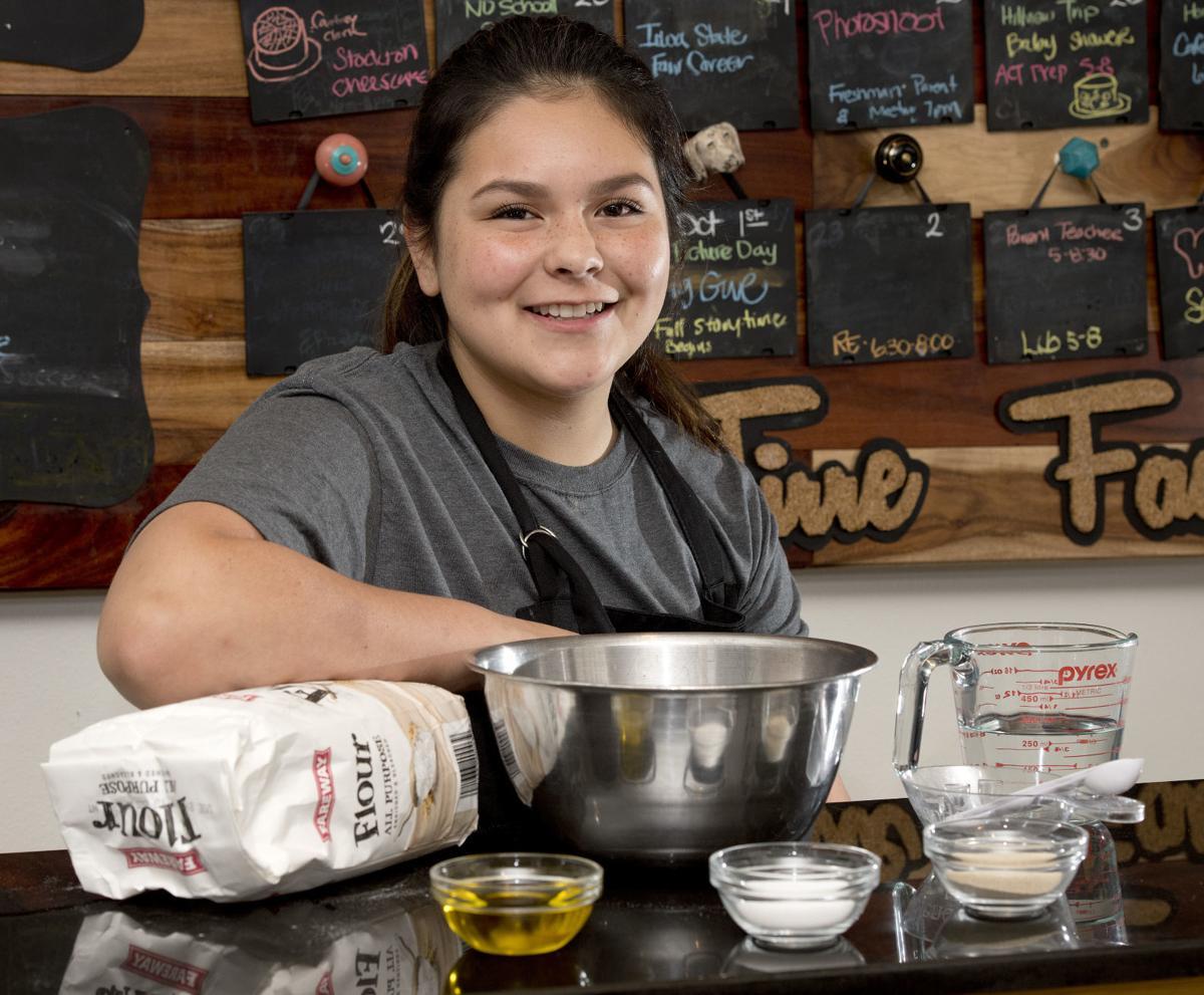 Professional baker Jada Tirre