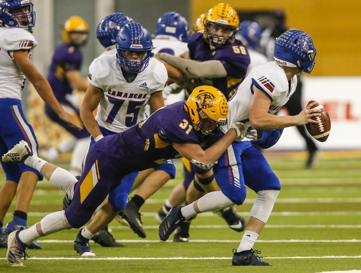 State Football 2A Central Lyon/George-Little Rock vs. Camanche 12