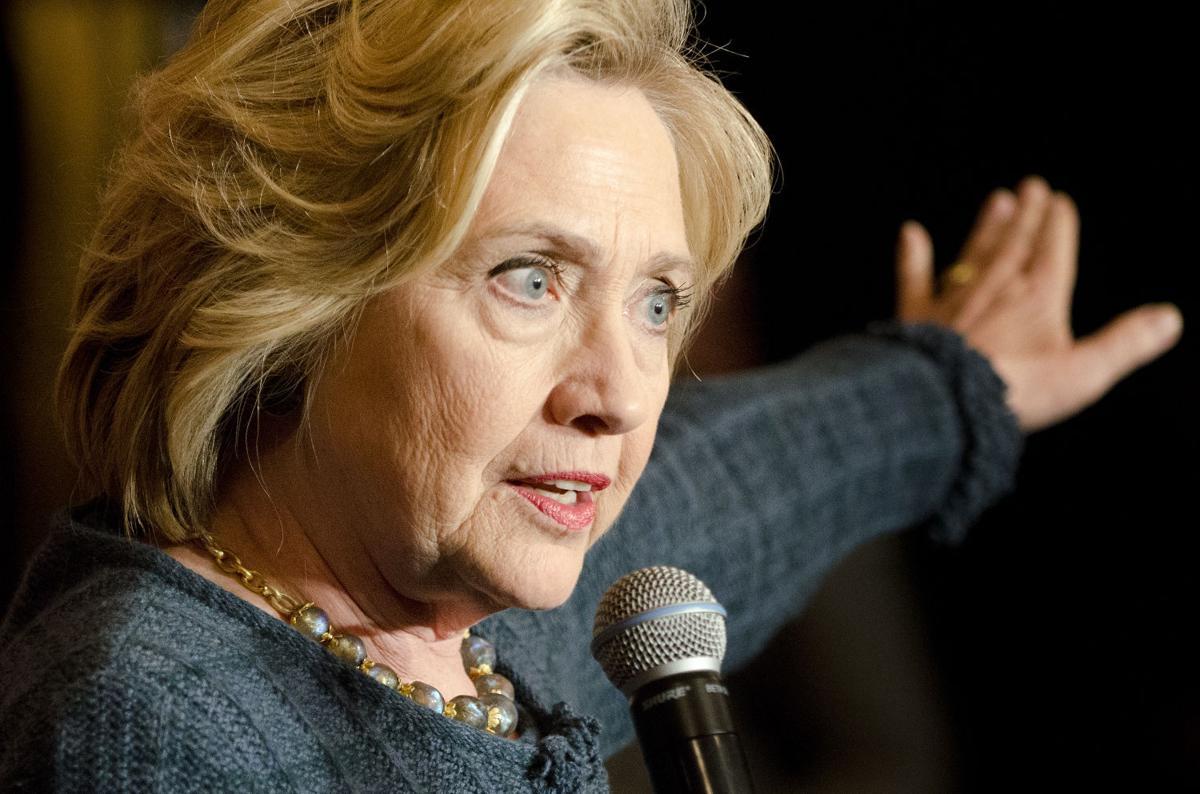 Democrat Hillary Clinton