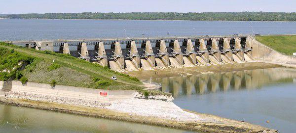 Gavins Point Dam no release