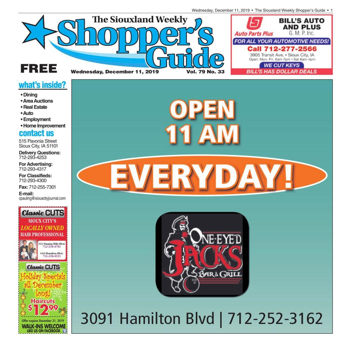 Shopper's Guide - December 11, 2019