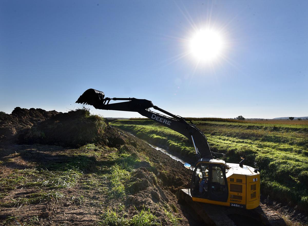 Long-awaited Pigeon Creek dredging under way in Dakota