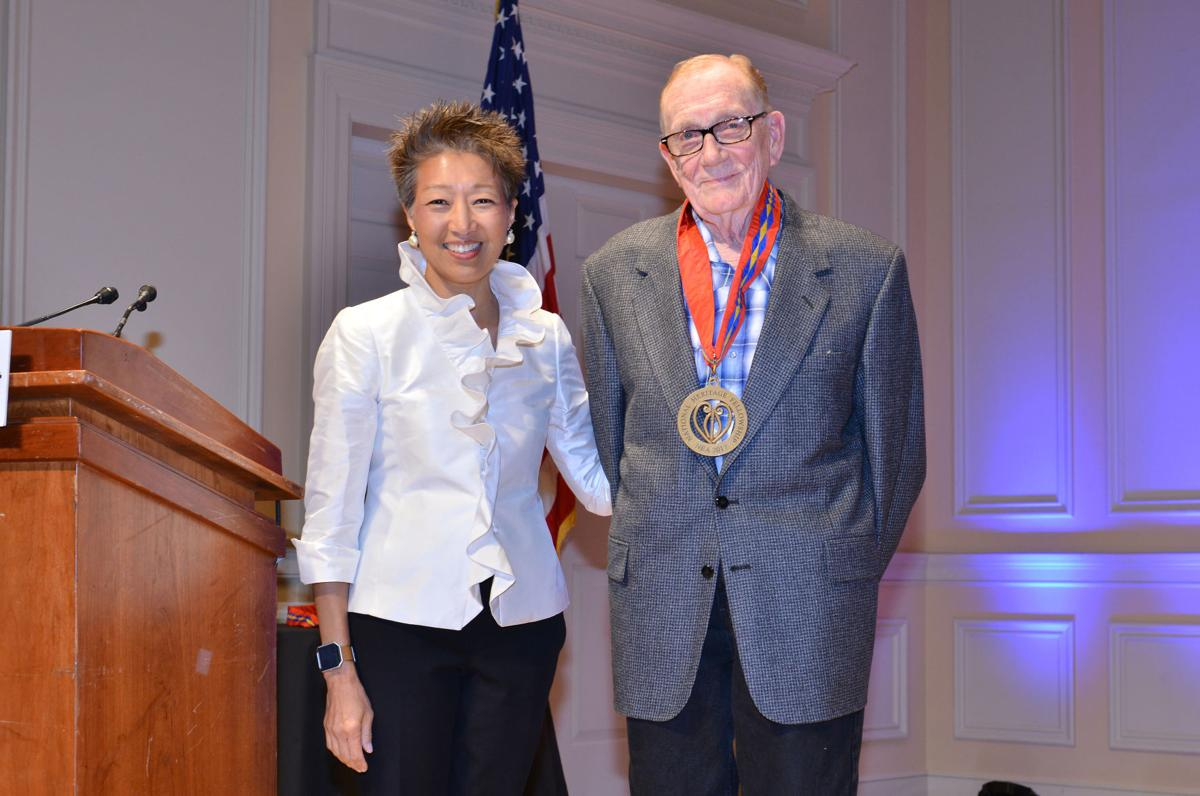 dwight lamb with nea's jane chu