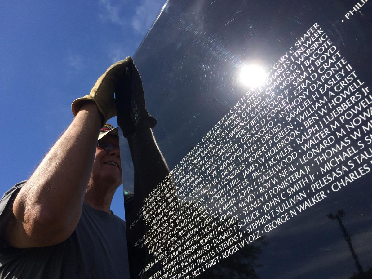 gallagher vietnam moving wall sets up in cherokee columnists tim