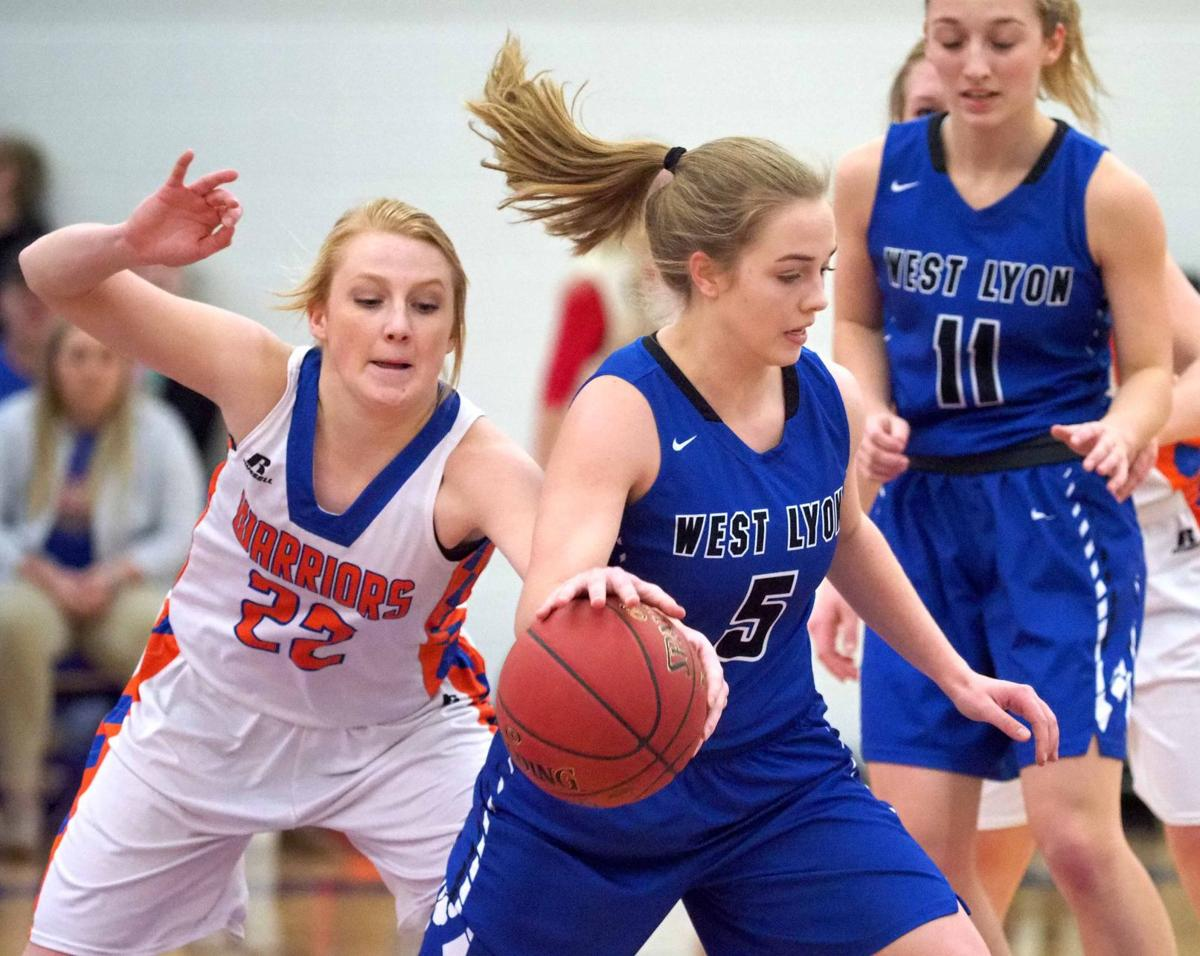 West Lyon at Sioux Center basketball